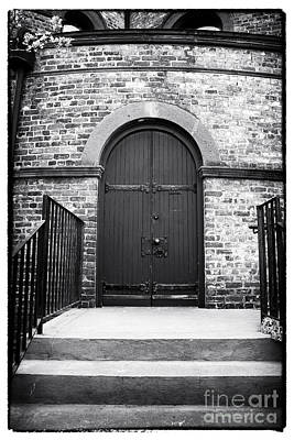 Photograph - Congregational Door by John Rizzuto