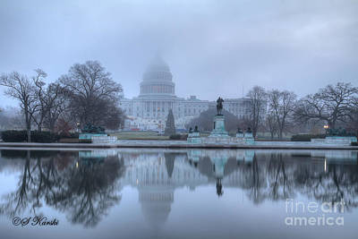 Congress In Fog Original