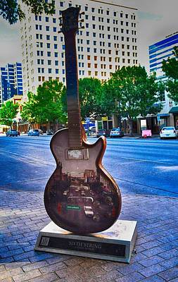 Photograph - Congress Avenue Sixth String by Kristina Deane