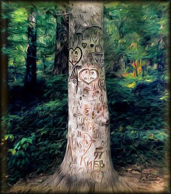Congressional Woods Art Print