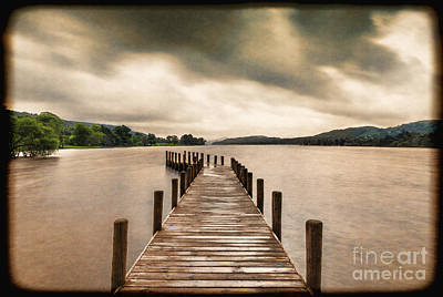 Photograph - Coniston Water Cumbria England by Colin and Linda McKie