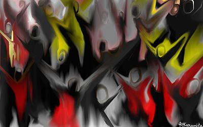 Painting - Conjuring by Karunita Kapoor