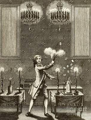 Conjuring Performance, 18th Century Art Print