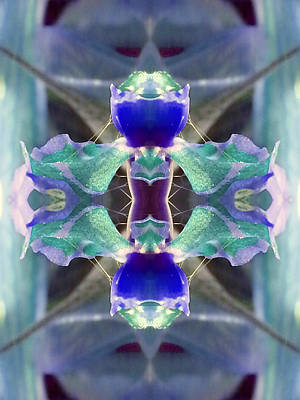 Etheric Digital Art - Connect Through Clear Communication by Marie-Louise Svensson