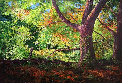 Connecticut Autumn Art Print