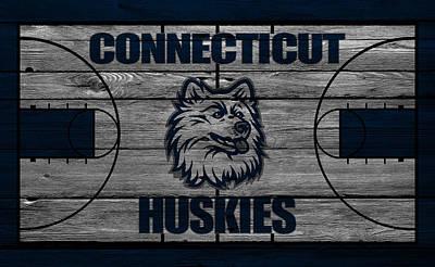 Huskies Photograph - Connecticut Huskies by Joe Hamilton