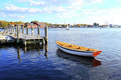 Recreational Boat Photograph - Connecticut Mystic Seaport by Shunyufan