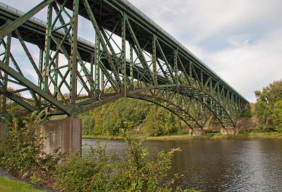 Photograph - Connecticut River Bridge - Drummerston Vermont by John Black