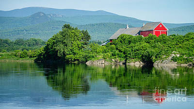 Photograph - Connecticut River Farm II by Edward Fielding