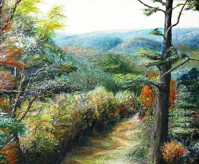 Painting - Connecticut Trail by Michael Anthony Edwards