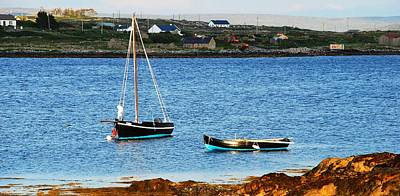 Photograph - Connemara Boats by Charlie and Norma Brock