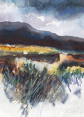 Sand Dunes Painting - Connemara Coast I by Kate Bedell
