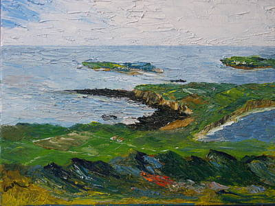 Painting - Connemara Is Calling by Conor Murphy