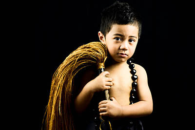 Tongan Photograph - Connor Faletasi by Victoria Faletasi