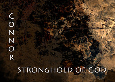 Connor - Stronghold Of God Art Print by Christopher Gaston