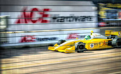 Izod Photograph - Conor Daly by David Morefield