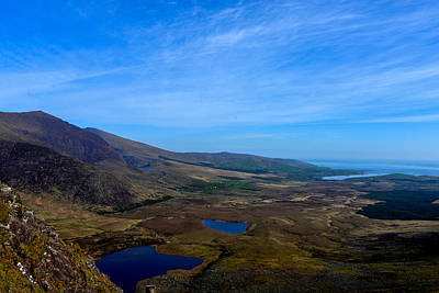 Photograph - Conor Pass - Dingle Peninsula - Ireland by Marilyn Burton