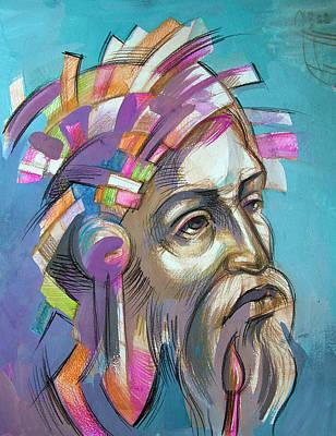 Don Quixote Painting - Conquistador by Filip Mihail