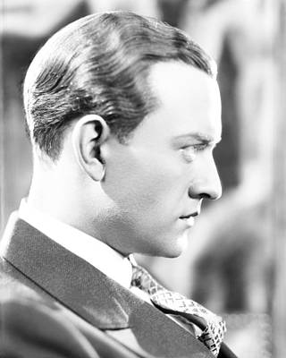 Conrad Nagel Print by Silver Screen