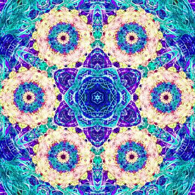Sacred Geometry Digital Art - Conscious Explosion by Derek Gedney