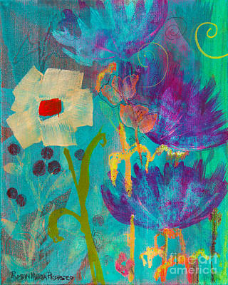 Painting - Conscious Living by Robin Maria Pedrero