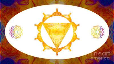 Digital Art - Conscious Spirituality Abstract Chakra Art By Omaste Witkowski by Omaste Witkowski