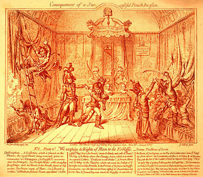 British Invasion Drawing - Consequences Of A Successful French Invasion by Litz Collection