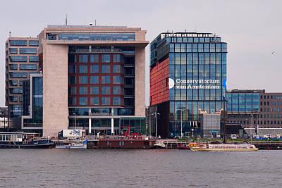 Photograph - Conservatorium Van Amsterdam by Jouko Lehto