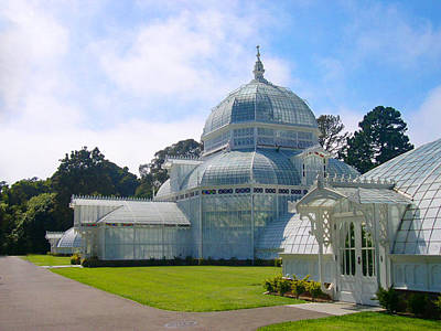 Golden Gate Park Photograph - Conservatory Of Flowers - San Francisco by Armand Cabrera