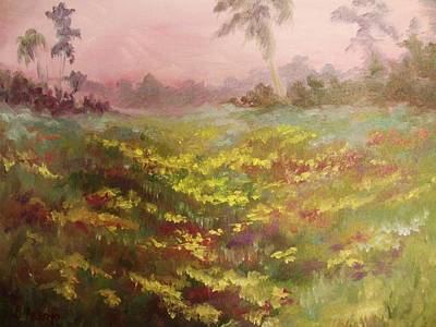 Painting - Consider How The Wild Flowers Grow by Beth Arroyo