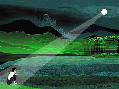 Consolation Digital Art - Consolation - 695 by Irmgard Schoendorf Welch