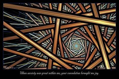 Digital Art - Consolation by Missy Gainer