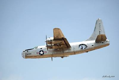 Photograph - Consolidated Pb4y-2 Privateer  by Susan Stevens Crosby