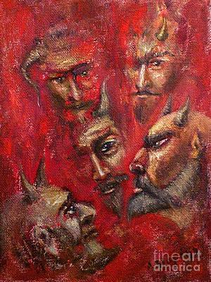 Conspiracy Art Print by Arturas Slapsys