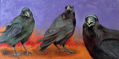 Painting - Conspiracy by Pattie Wall