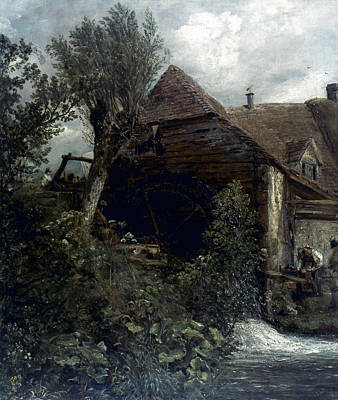 Gristmill Painting - Constable Water-mill by Granger