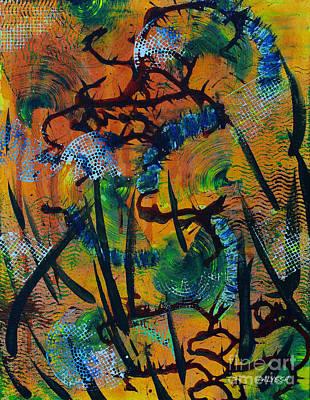 Alyssa Painting - Constant Revolution by Alyssa Rogers