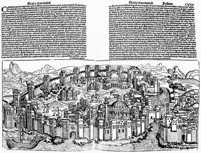Constantinople, 1493 Art Print by Granger
