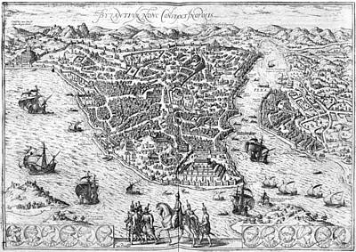 Constantinople, 1576 Art Print by Granger
