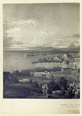 Constantinople Drawing - Constantinople In 1828, Istanbul, Turkey by Litz Collection