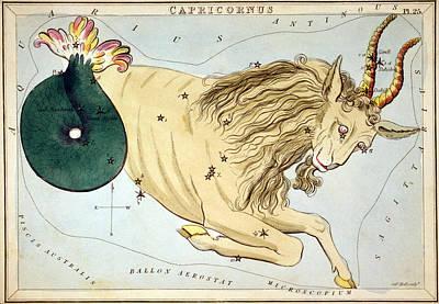 Constellation: Capricorn Art Print by Granger