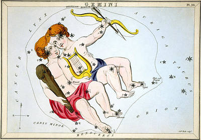 Photograph - Constellation: Gemini by Granger