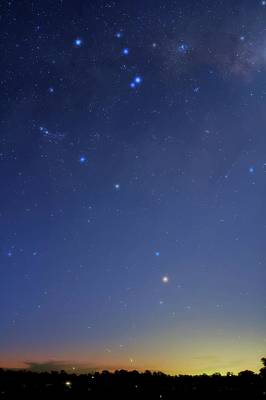 Pi Photograph - Constellation Of Scorpius by Luis Argerich