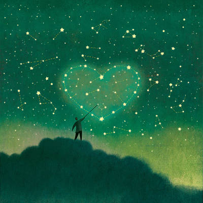 Painting - Constellation by Roberto Weigand