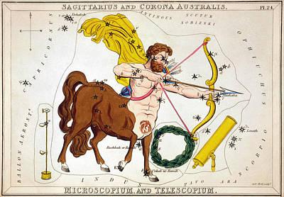 Photograph - Constellation: Sagittarius by Granger
