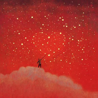 Painting - Constellations by Roberto Weigand