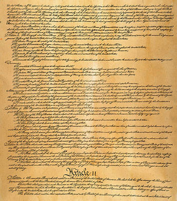 Constitutional Convention Photograph - Constitution, 1787 by Granger
