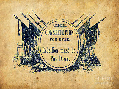 Constitution Forever Print by God and Country Prints