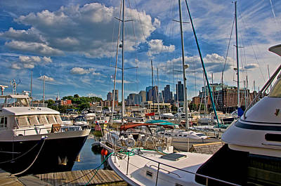 Photograph - Constitution Marina-boston by Joann Vitali