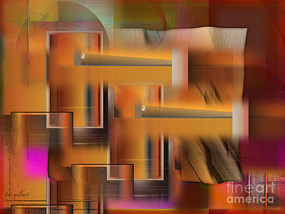Digital Art - Construction by Iris Gelbart